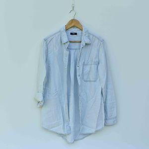 UO BDG Light Blue Denim Button Down Shirt